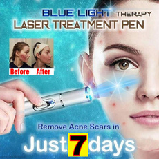 Blues, lights, Laser, skincarebeautypen