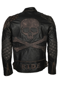 motorcyclejacket, bikerjacket, Fashion, skull