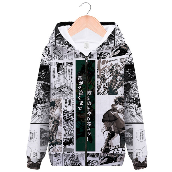 JoJo/'s Bizarre Adventure Jotaro Kujo Pullover Hoodie Hooded Sweatshirt Costume