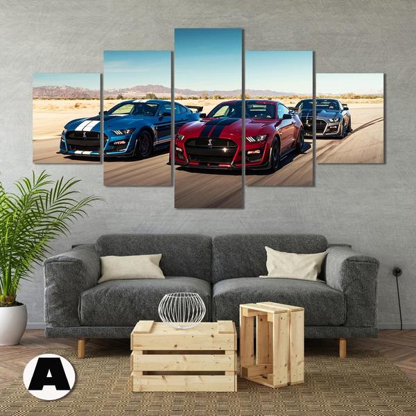 Wall Art, Home Decor, canvaspainting, musclecarposter