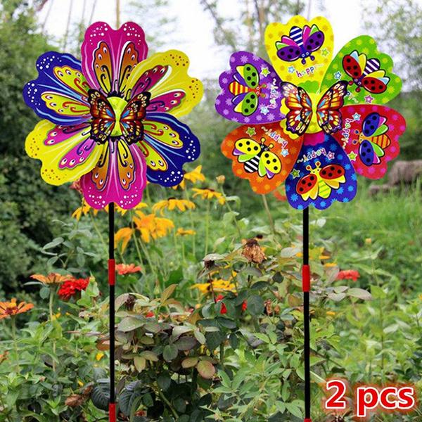 butterfly, toywindmill, kidsoutdoortoy, gardenwindmill