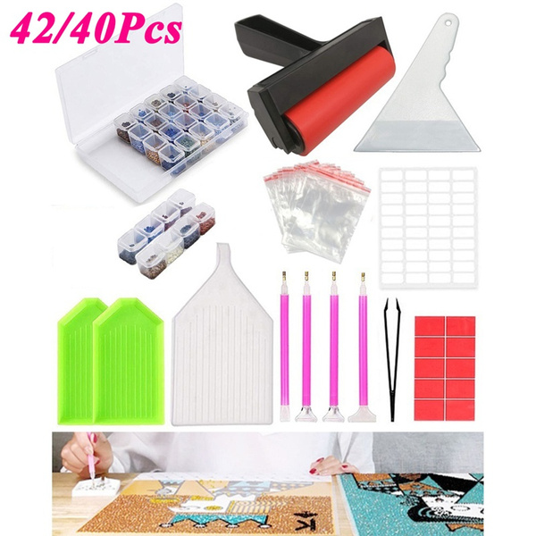 Craft Supplies, Box, DIAMOND, diamondpaintingkit