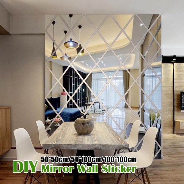 mirrorsforthewall, Home & Kitchen, Decor, DIAMOND