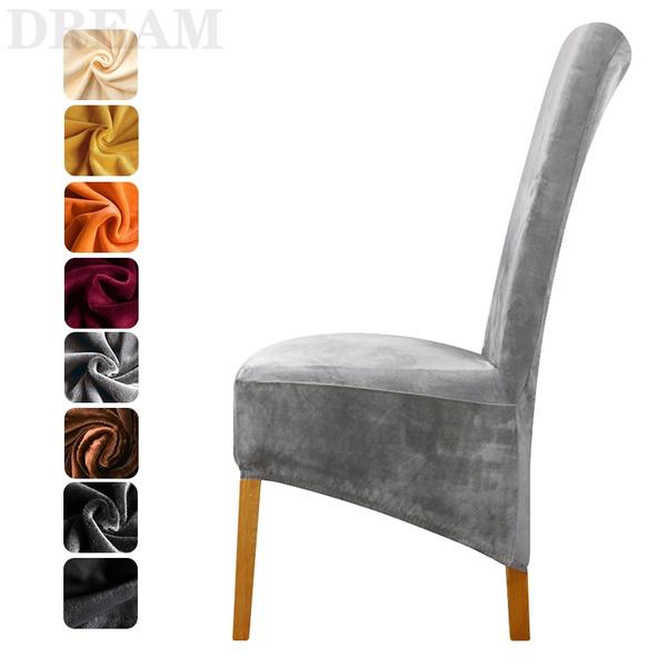 chaircover, diningchaircover, velvet, Home Decor