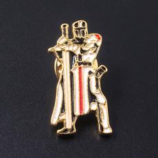 Pins, templar, knight, Accessories