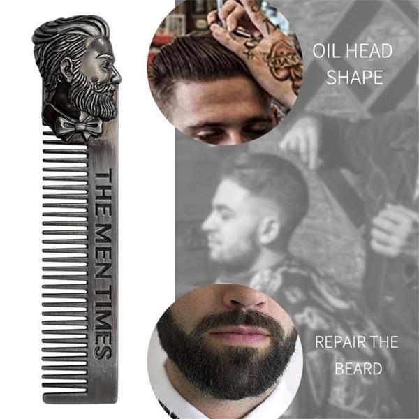 Steel, headcomb, Head, beardshape