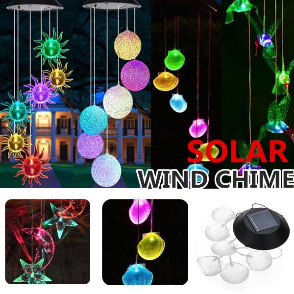 solarwindchime, Outdoor, Yard, Garden