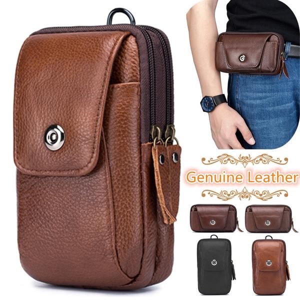 zipperbag, Outdoor, genuine leather bag., Hiking