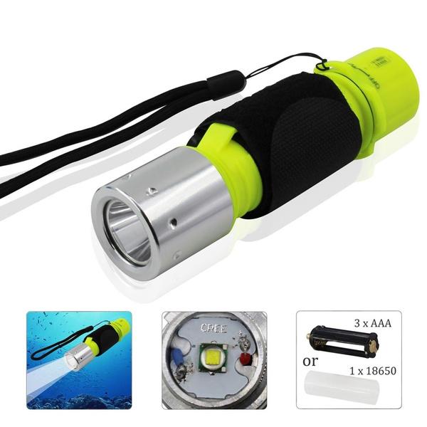 Flashlight, underwater, scubasnorkeling, lightsamplighting