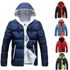 slimovercoat, Casual Jackets, hooded, Winter