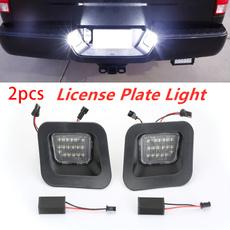 Dodge, reartaillight, licenseplate, led