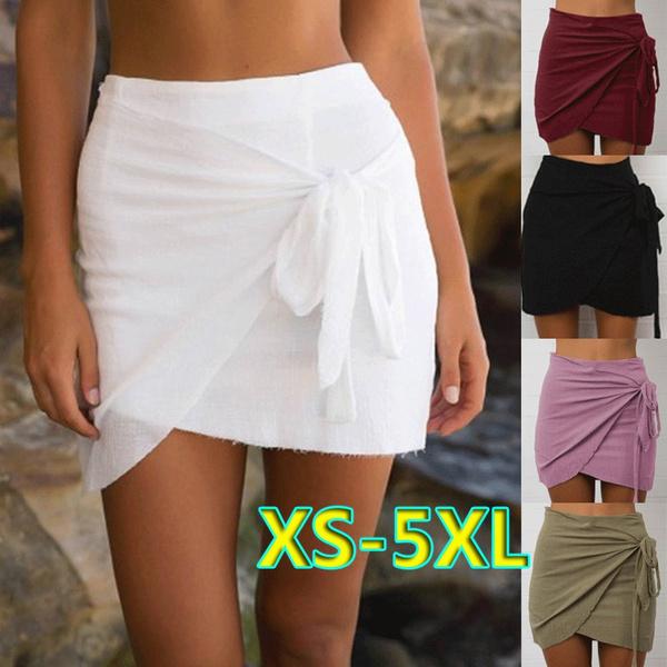 Summer, Fashion, high waist, Mini
