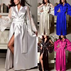 Sleepwear, Underwear, Lace, gowns
