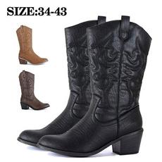 Plus Size, shoes for womens, Cowboy, Vintage