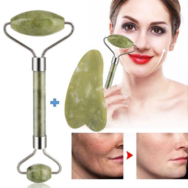 jadebeautydevice, facerollermassager, Beauty tools, naturalgemstone
