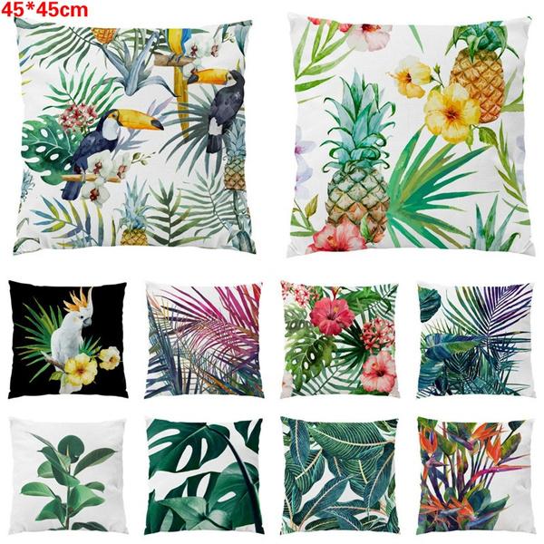 Polyester, Plants, beddingpillow, leaf