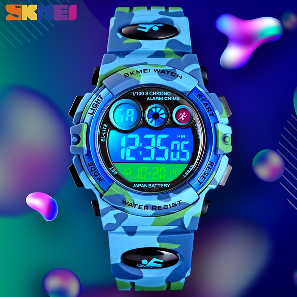 dial, students watch, Waterproof Watch, Colorful
