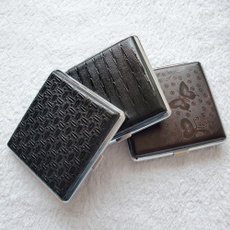 Box, case, Cigarettes, leather