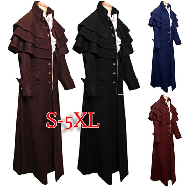 steampunkcoat, Goth, Plus Size, Medieval