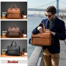 genuine leather bag., Totes, Messenger Bags, briefcasebag