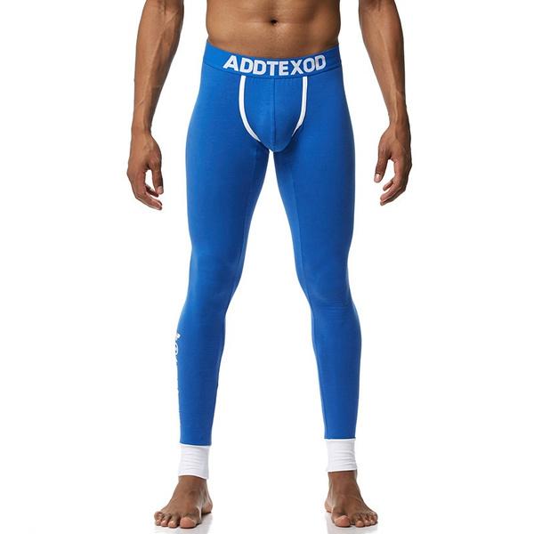 Fashion Mens Cotton Thermal Underwear Pants Warm Long
