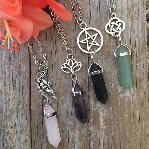 Jewelry, Chain, Choker, Lotus