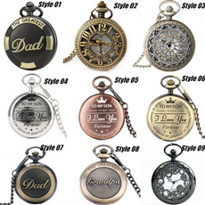 Antique, Pocket, Chain, Gifts