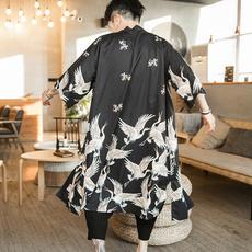 yukata, Men, vintagecoat, Coat