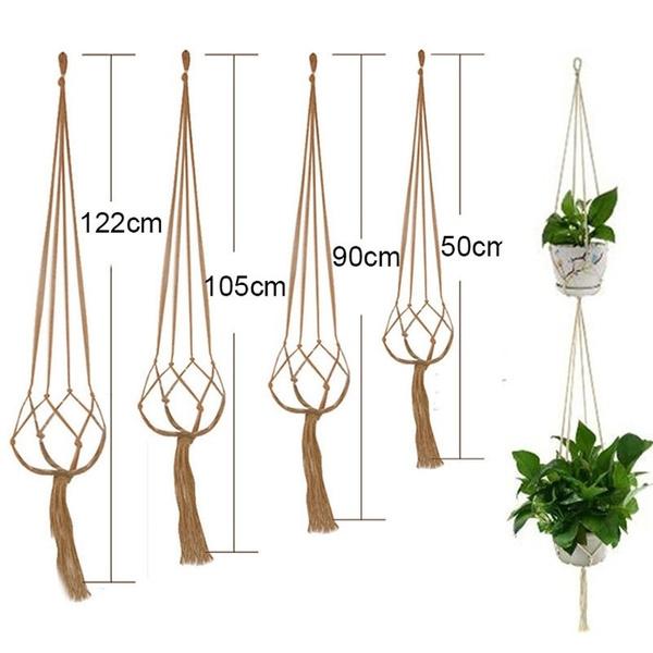 Rope, Plants, Flowers, Garden