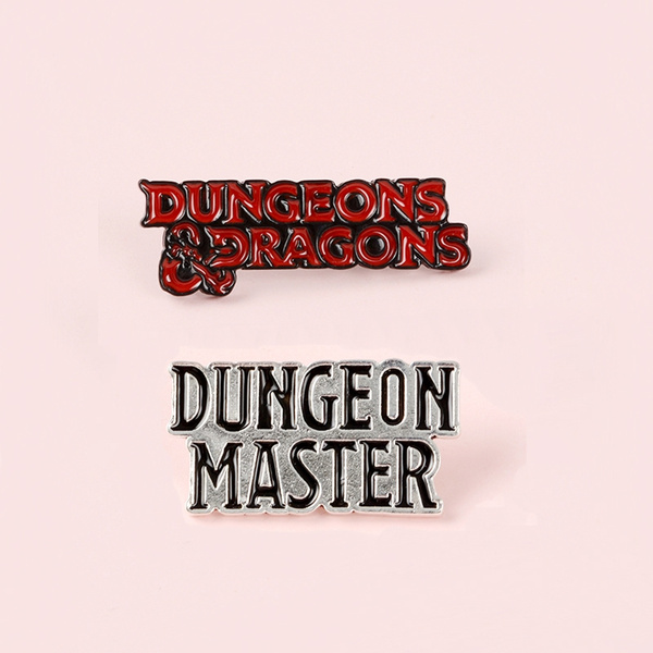 D/&D Dungeons and Dragons Badge My Roll In Life Enamel Pin Brooch