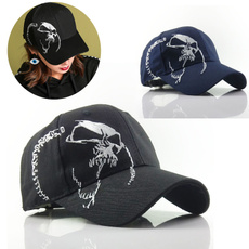 Fashion, skull, Women Cap, Cap