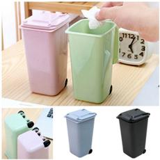 Mini, wastebin, Office, garbagecan