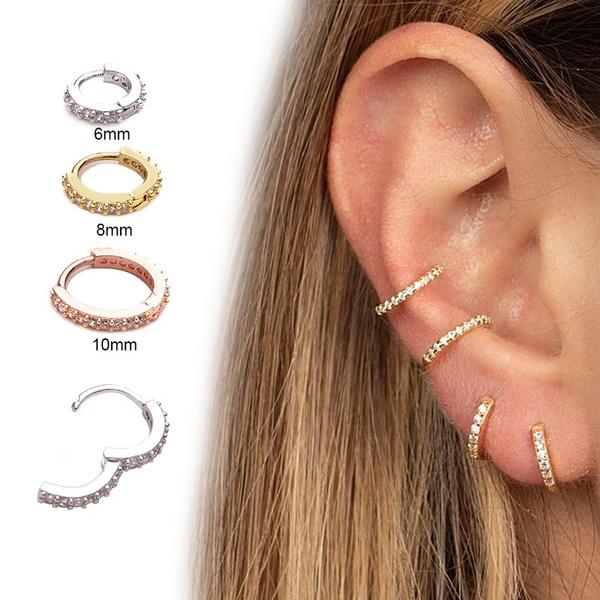 Jewelry, Sterling Silver Earrings, cartilagepiercingearring, piercing