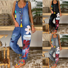 Summer, Plus Size, Ladies Fashion, pants