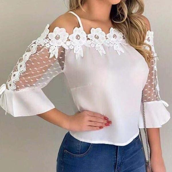blouse, Fashion, chiffon blouse, Sleeve