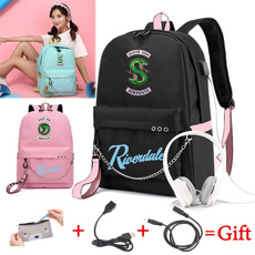 School, usb, Travel, School Bag