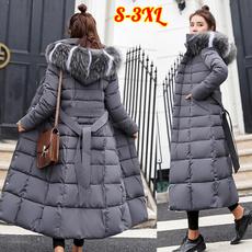 padded, Plus Size, fur, Winter