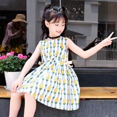 Summer, Vest, short sleeve dress, vest dress