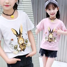 Summer, Cotton, Flowers, Cotton Shirt