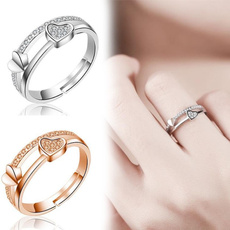 Couple Rings, adjustablering, Fashion, wedding ring