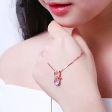 pink, cute, quartz, Jewelry