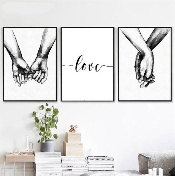 Love, Wall Art, Home Decor, canvaspainting