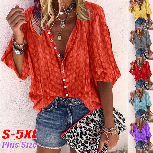 blouse, Plus Size, 34sleeve, Sleeve