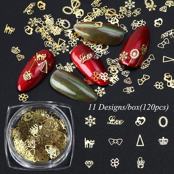Heart, nail decals, nailjewelry, Beauty
