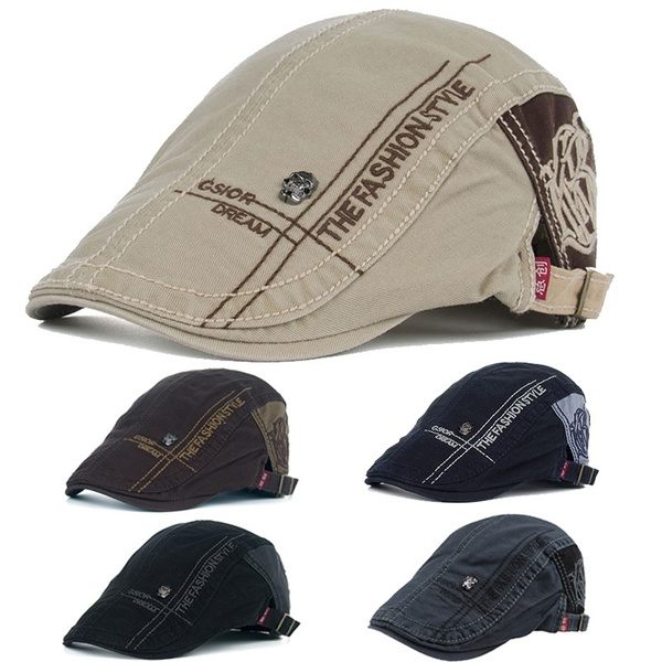 Fashion, skullcap, beretcap, Cap