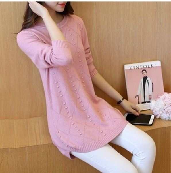 women pullover, Women Sweater, long sleeve sweater, loose top