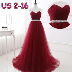 sweetheart, Simple, Evening Dress, Dress