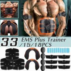 muscletoning, em, Abs, fitnessaccessorie