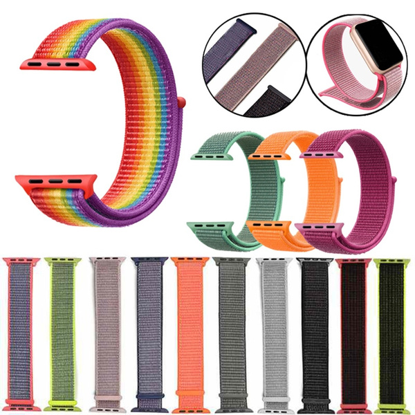watchbandstrap, Nylon, woven, Apple