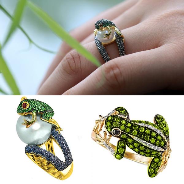 Fashion, gold, 18k gold ring, cubiczirconiaring